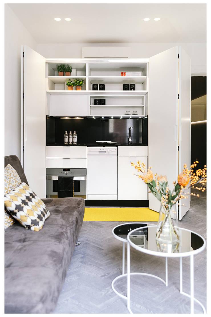 Маленькие кухни в . Автор – MILL-HOUSE, Лофт