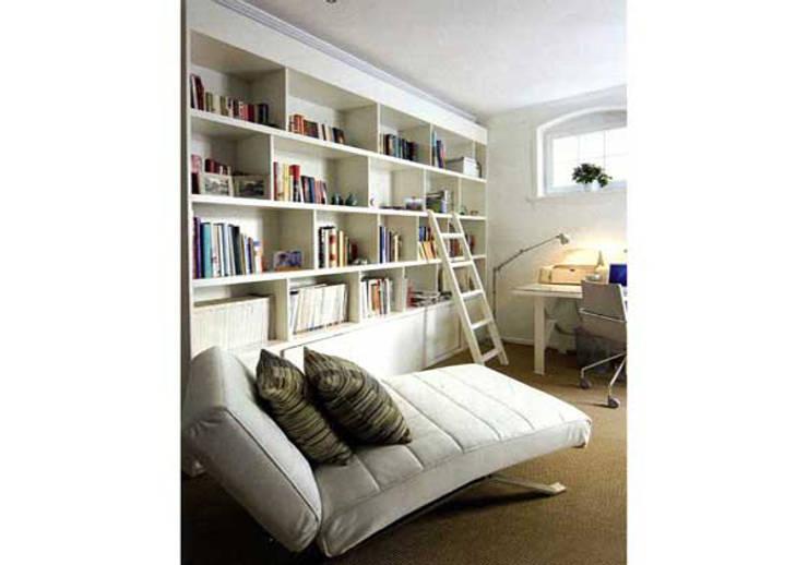 Paker Mimarlık – GARCIA EVİ:  tarz Çalışma Odası