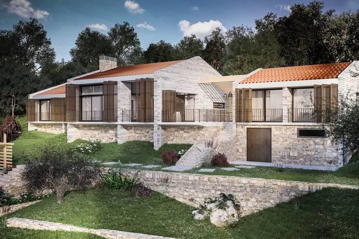 Paker Mimarlık – BD EVİ: modern tarz Evler