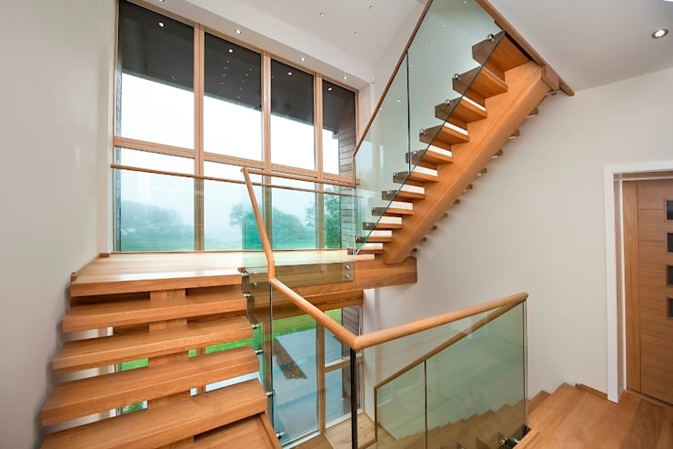 East Sussex -b:  Corridor, hallway & stairs by Smet UK - Staircases