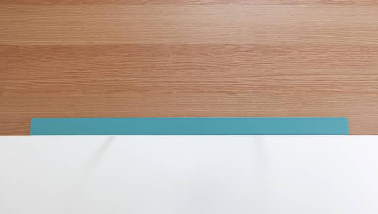 Duale: Sala da pranzo in stile  di Luca Binaglia Design