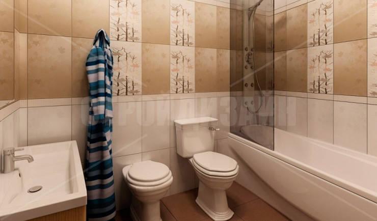 дизайн интерьера трехкомнатной квартиры: Ванные комнаты в . Автор – СТРОЙДИЗАЙН