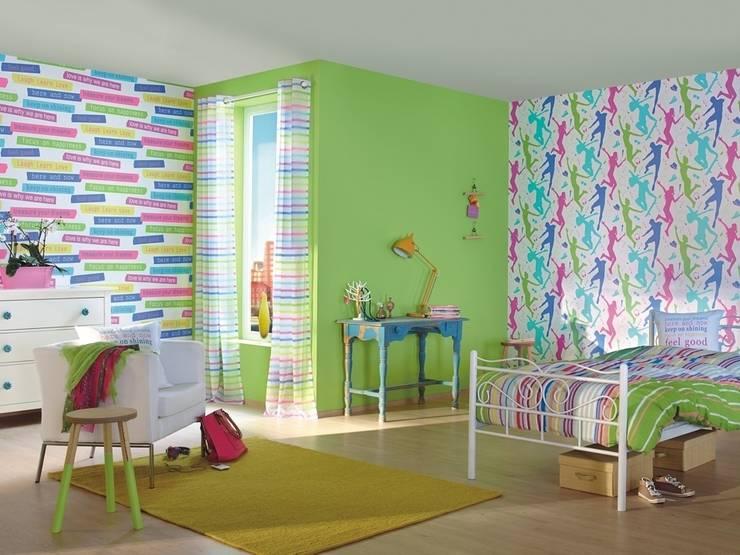 HannaHome Dekorasyon  – Rasch-Kids&Teens: modern tarz Duvar & Zemin