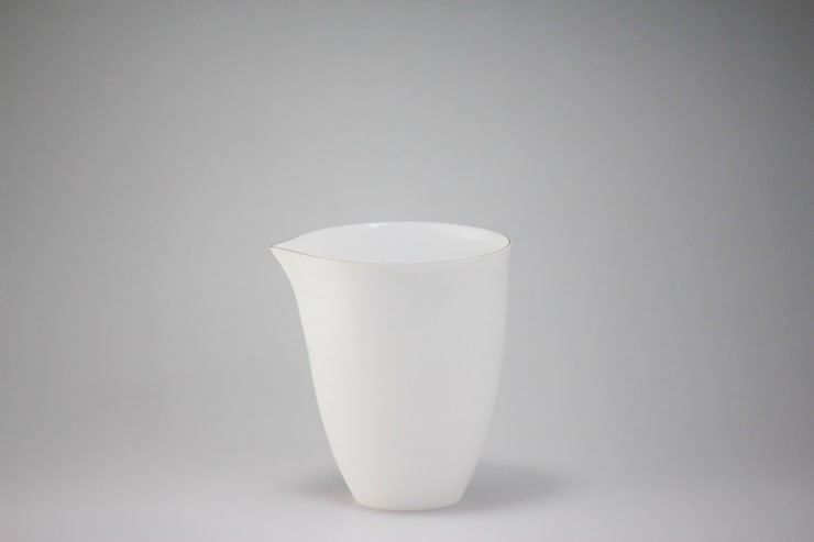 Egg Shell Katakuchi (A sake cup):  Kitchen by Rin crossing