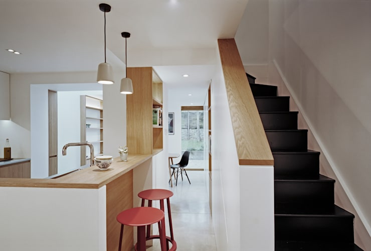 Breakfast Bar Dapur Modern Oleh ABN7 Architects Modern