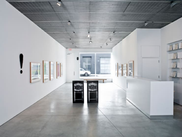 David Nolan Gallery, New York:  Exhibition centres by studioMDA