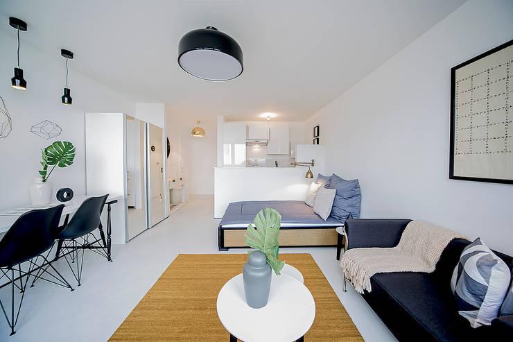 Düsseldorf Redesign i: ausgefallene Schlafzimmer von edit home staging