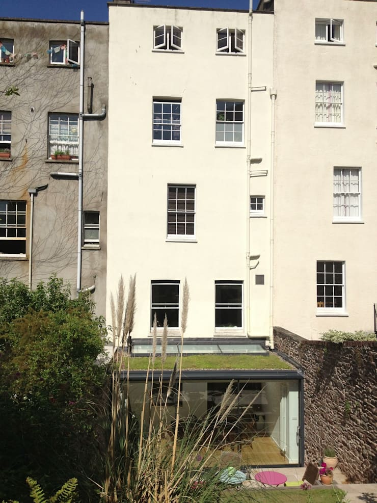 Extension to Grade II* listed building in Clifton:  Houses by Dittrich Hudson Vasetti Architects