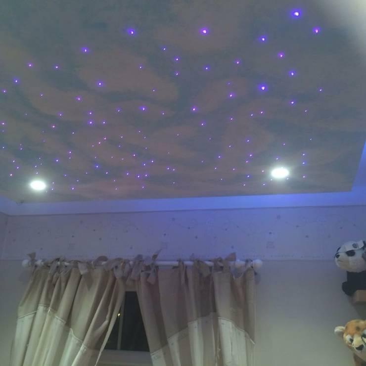 Nursery:  Nursery/kid's room by Lancashire design ceilings