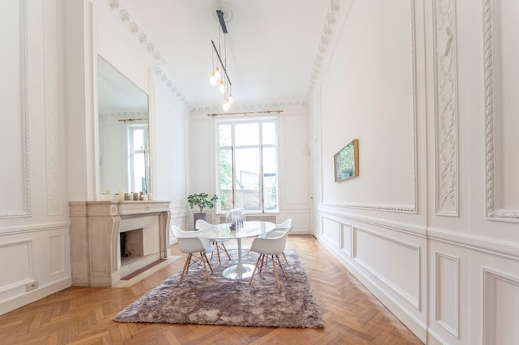 BRUSSELS HOME STAGING: ausgefallene Esszimmer von edit home staging