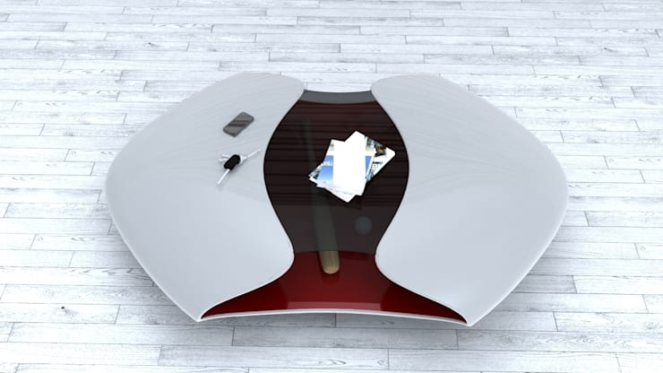 Tavolino ALIEN:  in stile  di Studio Ferrante Design, Moderno