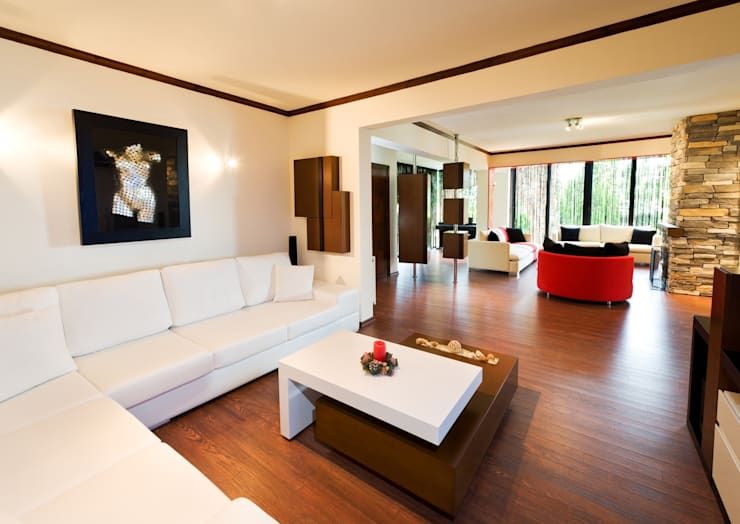 Şölen Üstüner İç mimarlık – Sezinler ev/ kıbrıs: modern tarz Oturma Odası