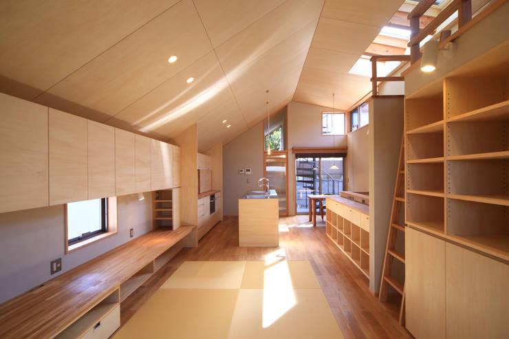 LDK1: 悠らり建築事務所が手掛けた家です。,モダン