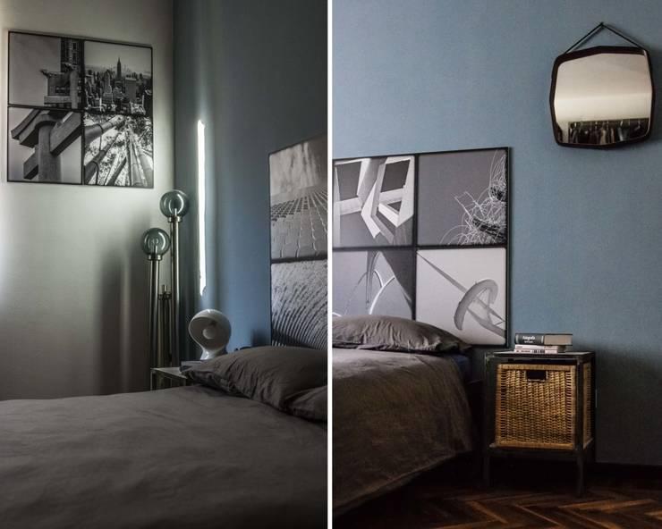 pannelli immagine e second hand forniture: Camera da letto in stile  di cristina leone architetto