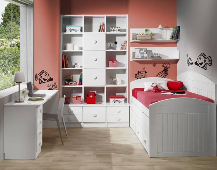 Dormitorios de estilo  por muebles dalmi decoracion s l