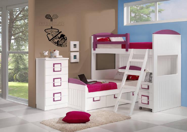 Projekty,  Sypialnia zaprojektowane przez muebles dalmi decoracion s l