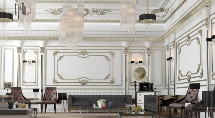 MHD Design Group – Camera_002: klasik tarz tarz Oturma Odası