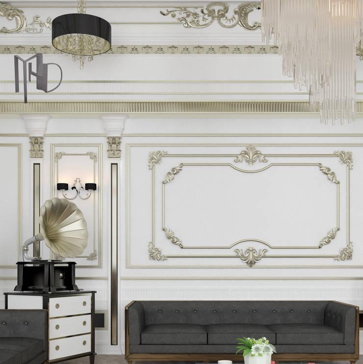 MHD Design Group – Camera_001:  tarz Oturma Odası, Klasik