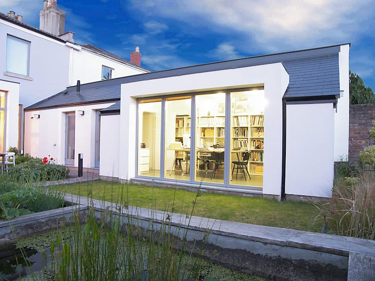 House for a mathematician in Bristol:  Study/office by Dittrich Hudson Vasetti Architects