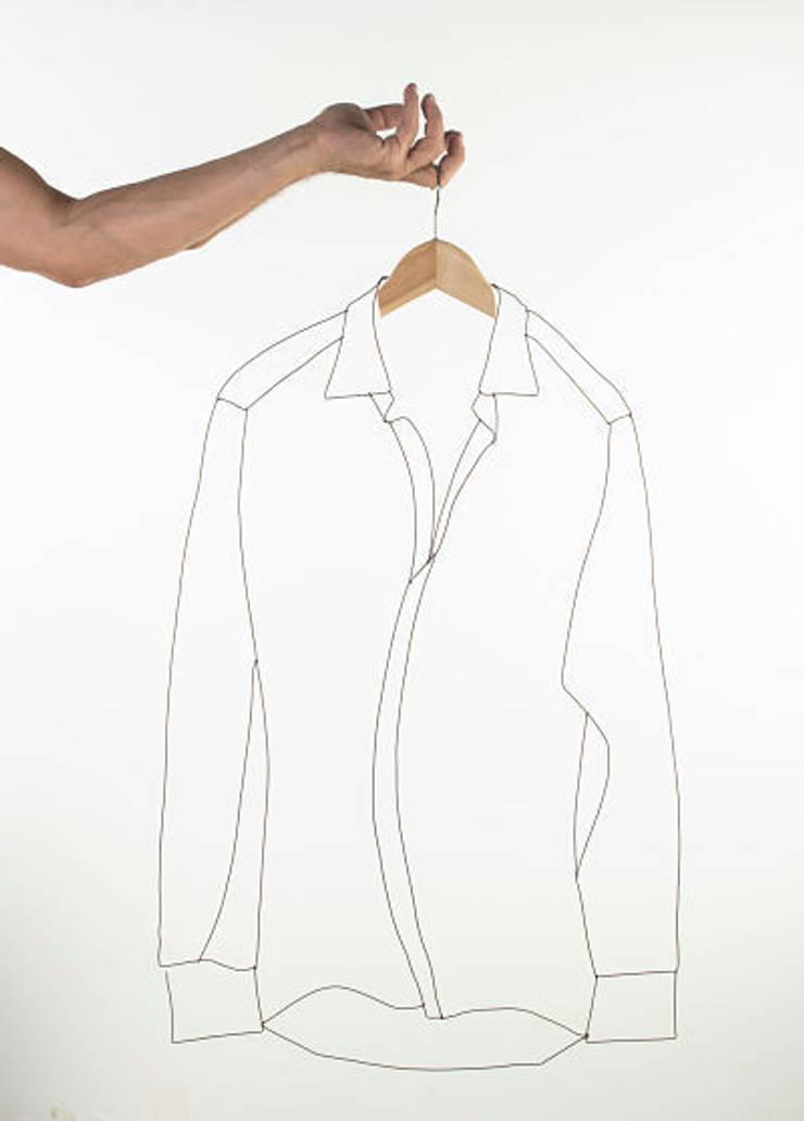 Camisa ALAMBRE: Arte de estilo  de Decojondepato.com