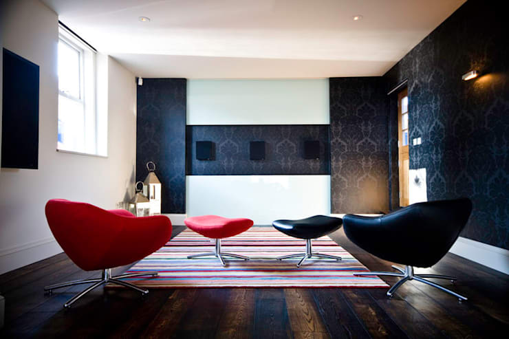Artcoustic Home Cinema:  Media room by Finite Solutions