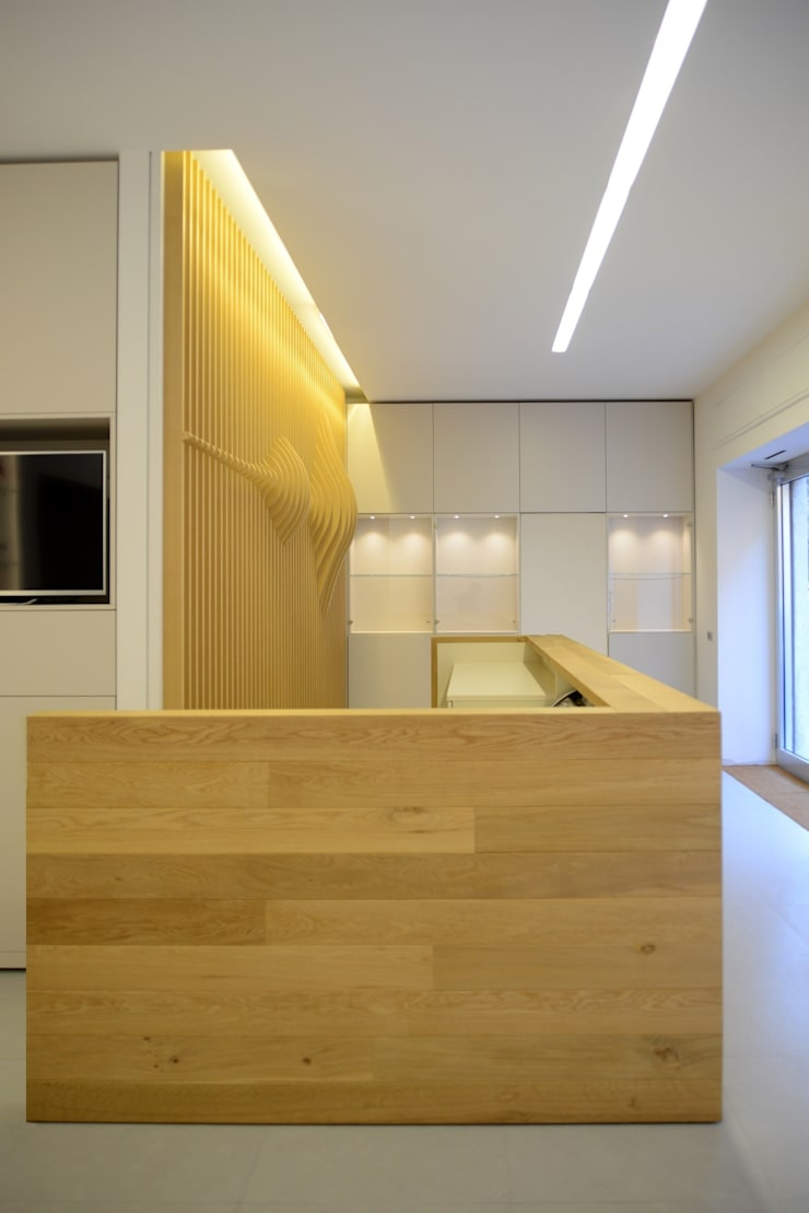 Offices & stores by ministudio architetti, Minimalist