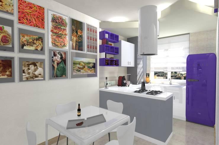 Küche von Arch. Emanuele Tona, Modern