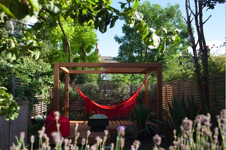 modern Garden by Platform 5 Architects LLP