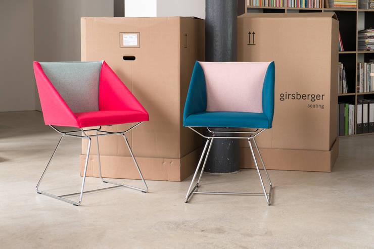 Girsberger SCHLAUFENSTUHL:  Esszimmer von Designstudio speziell®