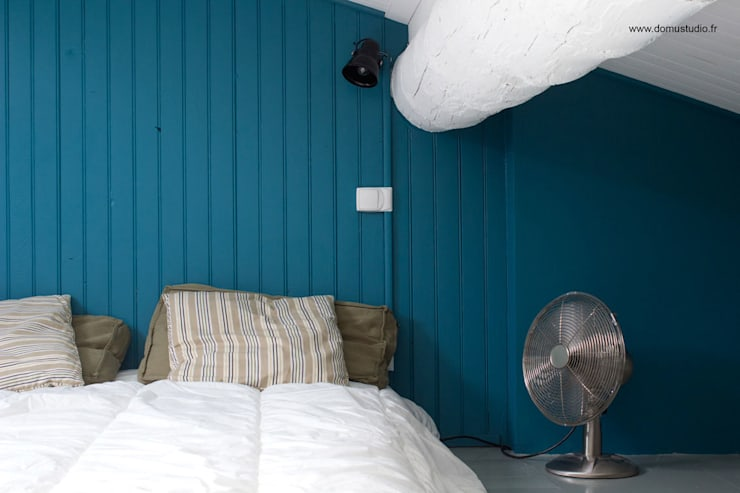 mediterranean Bedroom by Koloré