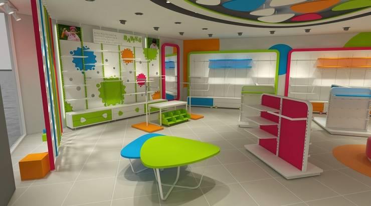 cihat özdemir – Çocuk mağazası tasarımı:  tarz