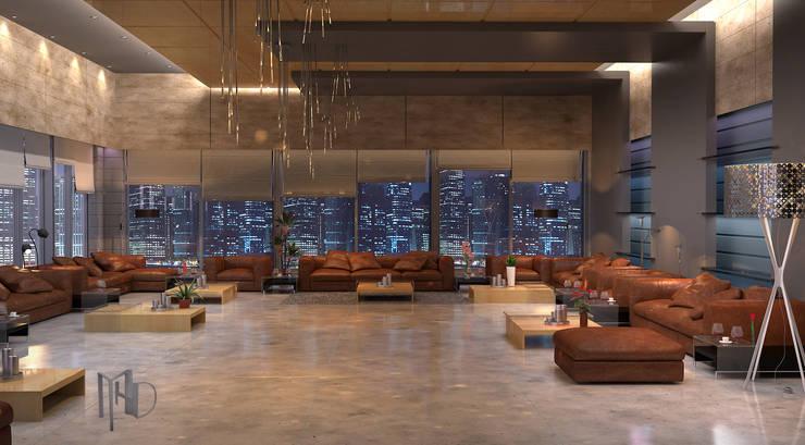 MHD Design Group – cam_02: modern tarz Oturma Odası