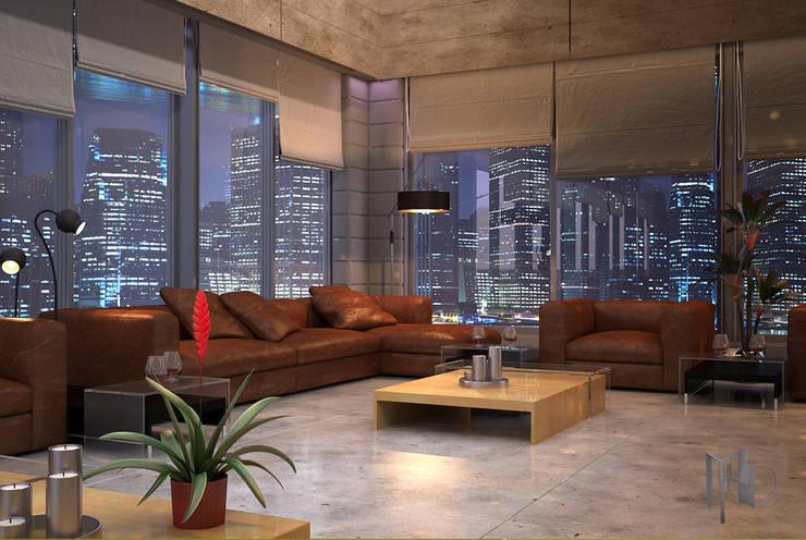 MHD Design Group – cam_03:  tarz Oturma Odası