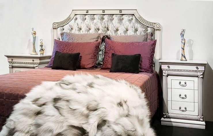 DORMITORIO MANDELA : Dormitorios de estilo clásico de  MUEBLES G3 FURNITURE