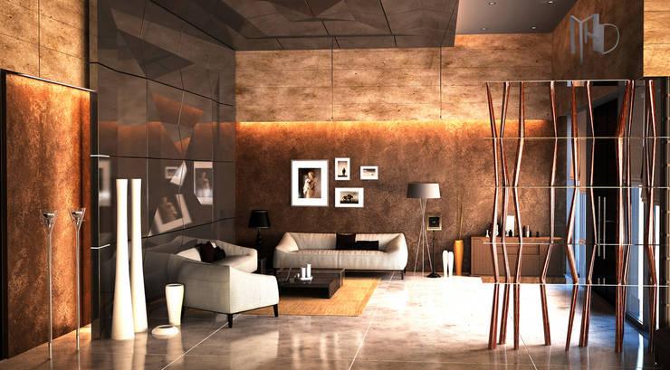 MHD Design Group – cam_01:  tarz Oturma Odası
