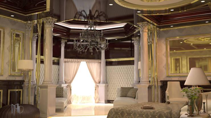 MHD Design Group – cam_02: klasik tarz tarz Yatak Odası