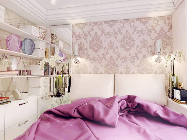 Спальная:  в . Автор – Volkovs studio