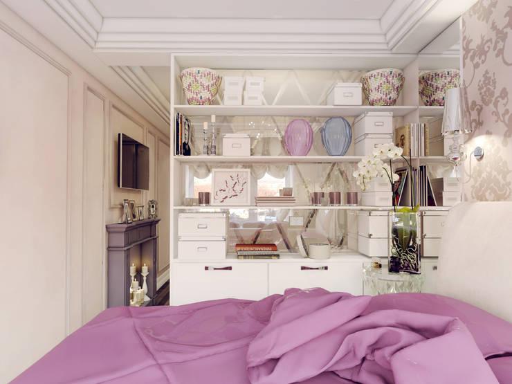 Спалная:  в . Автор – Volkovs studio