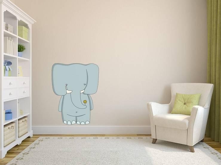 Elefante: Habitaciones infantiles de estilo  de Shoptoshop.com