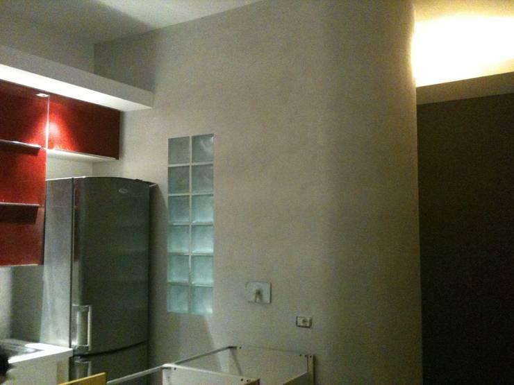 Appartamento Roma Prati: Cucina in stile  di piano a