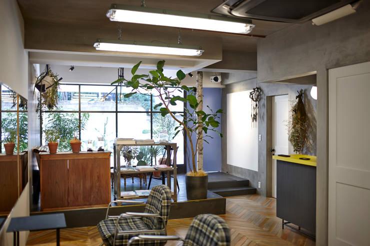 WHERE: case.work.が手掛けたオフィススペース&店です。