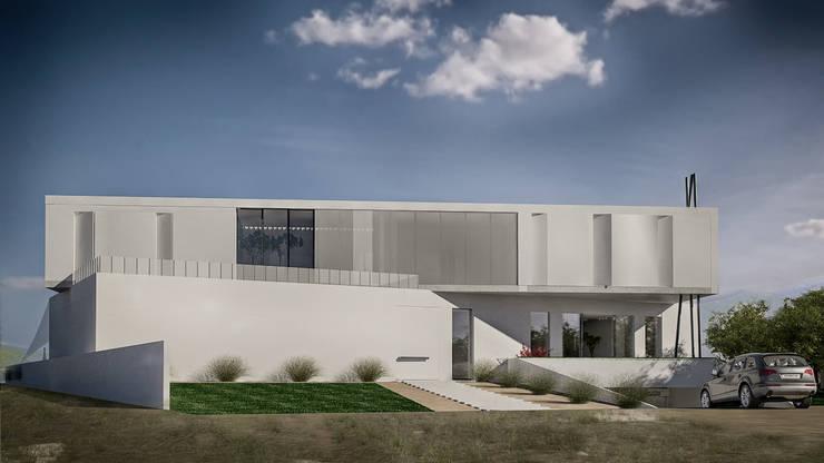 Casas de estilo  por Anastassiya Leonova