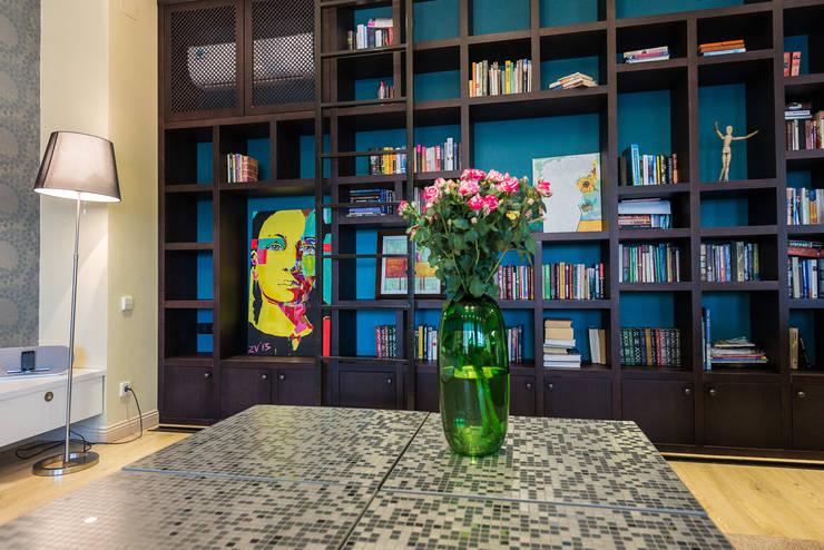 Гостиная:  в . Автор – la Fabbrica design studio