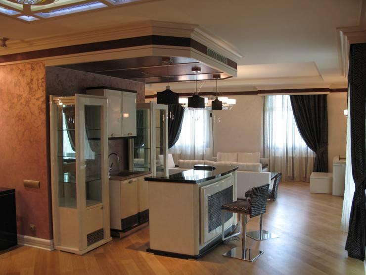 Дизайн интерьера пент хаусов и квартир:  в . Автор – Мастерская Михаила Некрашевича,