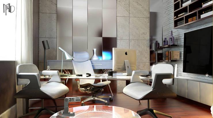MHD Design Group – Private Villa_46:  tarz Ofis Alanları