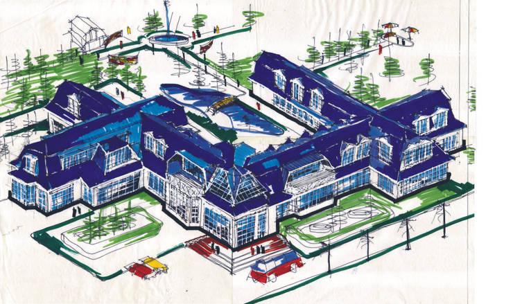 Архитектура Эскизы Проекты:  в . Автор – Мастерская Михаила Некрашевича