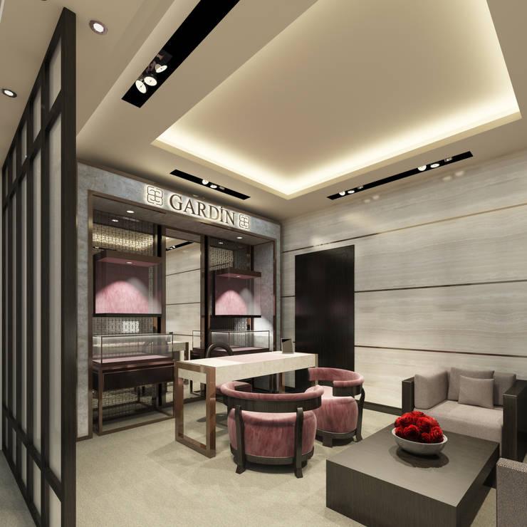 Kerim Çarmıklı İç Mimarlık – GARDIN  2013:  tarz Ofis Alanları & Mağazalar