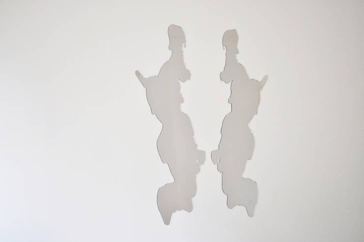Miroir Perception: Salle à manger de style  par Benjamin Rousse Design