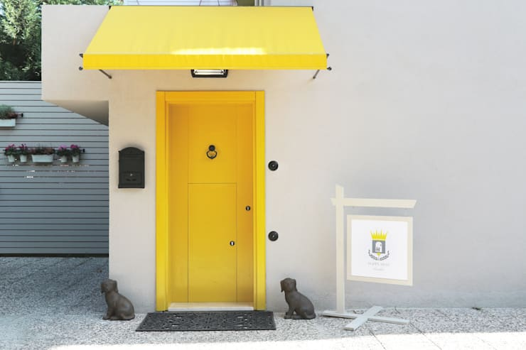Kerim Çarmıklı İç Mimarlık – HAPPY NEST CHILDRENS CLUB 2012:  tarz Balkon, Veranda & Teras