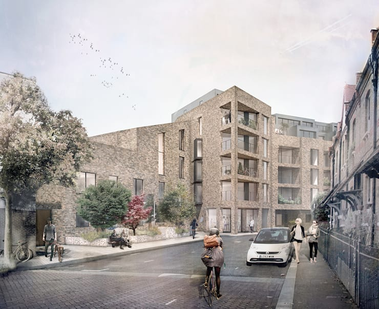 Ufford St Housing:  Houses by Platform 5 Architects LLP
